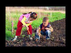 In My Garden music video for preschoolers and kindergarten children.  Perfect for a Gardening theme unit!