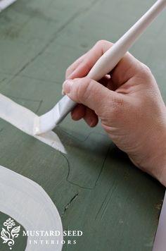 pintando placas