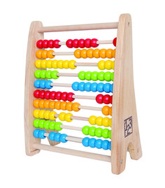 Rainbow Bead Abacus From Hape from The Wooden Toybox