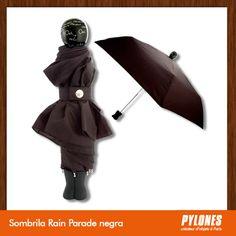 Sombrilla Rain Parade negra @pylonesco #Pylonesco #Navidad #Regalos #Pylones #Novedades #New #Gifts #Christmas Pylones Colombia — en Colombia.