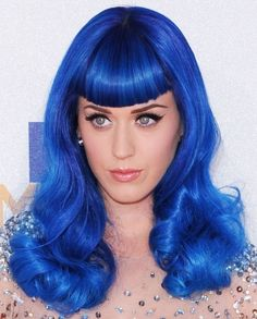 For my bachelorette party, each person is dressing up like a different singer. Since I already have a blue wig, I'm going to be Katy Perry.