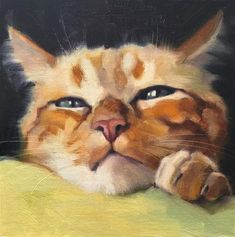 Cat Painting, Watercolor Cat, Art Painting, Animal Art, Fine Art, Custom Cat Portrait, Art, Animal Portraits Art, Animal Paintings