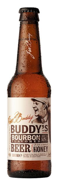 Buddy's Bourbon Flavored Beer