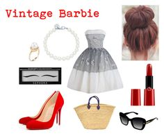 """~ cute for a halloween party ~ i would love to look like a """"vintage barbie"""" it depends what type of halloween party it is. <3                               -xoxo kenzie"""
