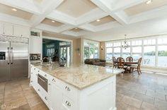 Stunning kitchen with water views