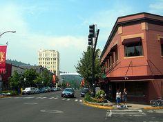 Ashland, Oregon (AJM NWPJ) | Downtown Ashland, Oregon. Photo… | Flickr