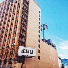 Best Rooftop Bars: The ACE Hotel downtown has been a hip attraction ever since it opened on Broadway Avenue in January. Ace Hotel Los Angeles, Downtown Los Angeles, Pacific Coast, West Coast, United Artists Theater, Travel Around The World, Around The Worlds, Best Rooftop Bars, City Of Angels