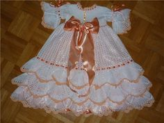 Gallery.ru / Фото #8 - Детское платье крючком - svetlyachoks