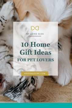 Shopping for your pet parent friends, or even finding those perfect Christmas gifts for pet lovers, should never have to stress you out. Any of these gifts are a thoughtful way to pay tribute to the love of pets while also maintaining an elegant sense of style! Please repin! #petlovergifts #giftideasforpetlovers #petparentgifts