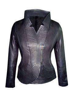 Vannamoda Women Designer Frill Quilted Jacket