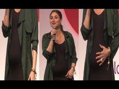 PREGNANT Kareena Kapoor at Global Citizen India Press Meet.