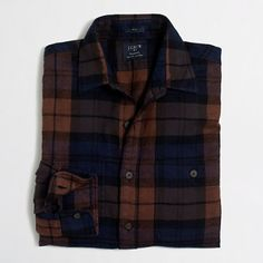 J.Crew Factory - Factory plaid flannel workshirt