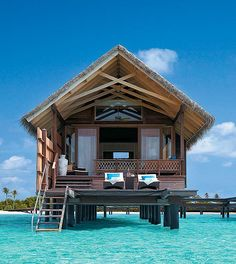 House on water- Shangri La in the Mal Dives