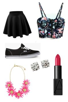 """""""Untitled #1"""" by mylifeaseva1 ❤ liked on Polyvore featuring Vans and NARS Cosmetics"""