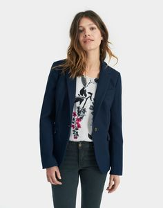 Jontie French Navy Blazer | Joules UK