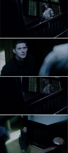 11x16 Safe House // Dean and Bobby seeing each other in the veil