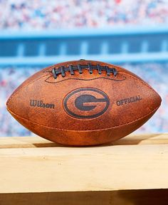 Official NFL Packers Team Throwback Football Pick Up Game Memorabilia Collection #OfficialNFL #GreenBayPackers