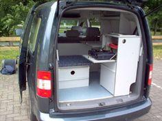 C-tech: Campingvan - Minicamper - VW Caddy - Camper, Camping