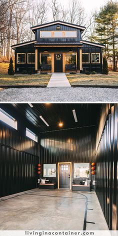 Building A Container Home, Container House Plans, Container House Design, Container Homes, Tiny House Cabin, Cabin Homes, My House, Barn House Plans, Tiny House Plans