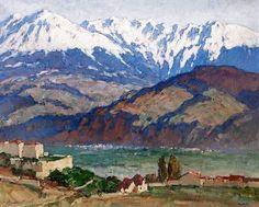 Georges GOBO La chaine de Belledonne Grenoble Isère