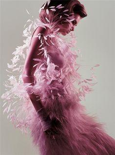feathery texture love <3