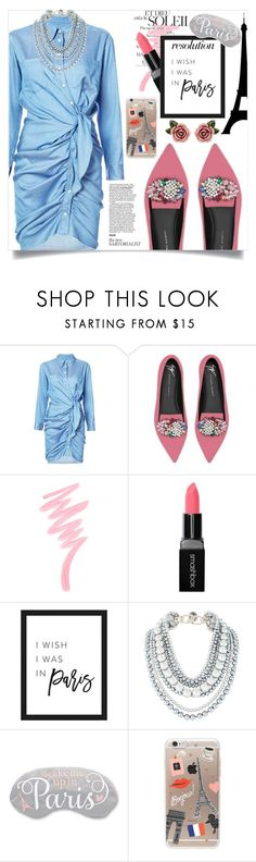 """#PolyPresents: NY RESOLUTION - PARIS 💋"" by asamariee ❤ liked on Polyvore featuring Giuseppe Zanotti, Victoria's Secret, Smashbox, Rifle Paper Co, Dolce&Gabbana, contestentry and polyPresents"