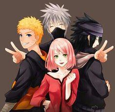 Naruto - Team 7 =w=