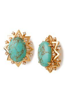 Earrings by Lele Sadoughi