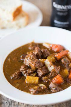 Guinness Beef Stew Recipe | Brown Eyed Baker