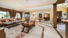 luxurious, open floor plan living.