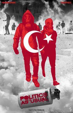 El arte de #occupygezi.