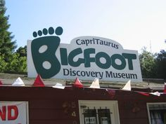 Discover Bigfoot Discovery Museum in Felton, California: This quirky roadside attraction dives into the many theories surrounding North America's most infamous hairy cryptid. Places In California, California Travel, Northern California, Felton California, Bigfoot Sightings, Discovery Museum, Bigfoot Sasquatch, Pacific Coast Highway, Cryptozoology