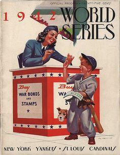1942 World Series- St. Louis Cardinals vs. New York Yankees, Game 5 by abbasj812, via Flickr