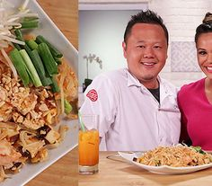 A Pad Thai Recipe That's Better Than Takeout - Pad thai may seem like a dish better left to the experts, but we beg to differ: with a little bit o - Pad Thai Recipe Food Network, Food Network Recipes, Pad Thai Sauce, Thai Street Food, Thai Dishes, Dinner Dishes, Thai Recipes, Asian Recipes, Vegetarian Recipes