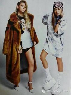 CL & Dara 2ne1 - on WeChat