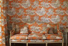 The Designer Insider: Manuel Canovas of Paris: Toile Fabrics and Wallpaper