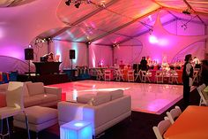 Special Event Lounge Area