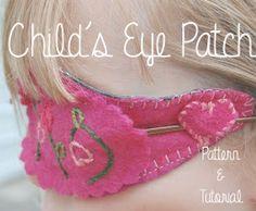 Doodle La: Children's Eye Patch Pattern & Tutorial