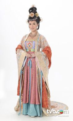 Charmaine Sheh in series Beyond the Realm of Conscience #Tang Dynasty Dress