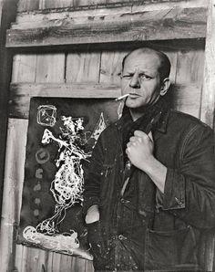 Jackson Pollock, 1949 - Arnold Newman