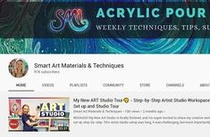 Acrylic Pouring Medium - TOP Brands in 2020 – Smart Art Materials Acrylic Pouring Techniques, Acrylic Pouring Art, Cool Stencils, Stencil Diy, Pour Painting, Painting Tips, Top Paintings, Acrylic Paintings, Online Painting