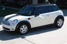 2009 Pepper White Mini Cooper