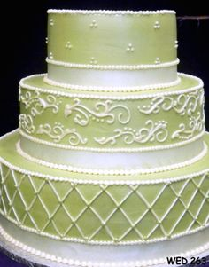 Pretty detail  Wedding Cakes | Gallery of Wedding Cakes | Serving Virginia, Maryland and Washington DC