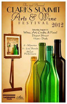 Clarks Summit Arts & Wine Festival 8/11/2012