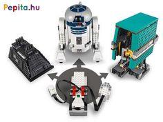 Építsd meg a népszerű Star Wars droidokat, és adj nekik feladatot! A LEGO® Star Wars Droid parancsnok 75253 készletben a Csillagok Háborúja kis robotjainak vezetője lehetsz, és egyszerre három droidot is meg tudsz építeni, akik távirányításúak. Állítsd össze R2-D2, Mouse és a Gonk droidot, és játszd el velük a Star Wars filmek jeleneteit! A droidokat a mobileszközöddel lehet vezérelni, a kis robotok minden irányba tudnak mozogni, és előre beprogramozott mozdulatsort is megadhatsz nekik. A… Star Wars Droids, Lego Star Wars, Spaceship, Stars, Toy, Ideas, Women, Space Ship, Spacecraft