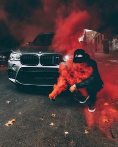 BMW with hot red colour Suv Bmw, Bmw Cars, Bmw E46, Smoke Bomb Photography, Car Photography, Fiat Abarth, Luxury Boat, Luxury Cars, Bmw Motorsport