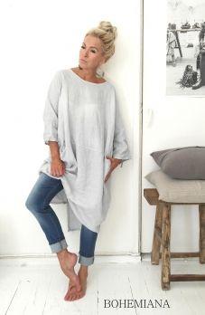 HAPPY Linen dress, KITTI (159,-)