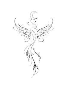 Bull Tattoos, Mom Tattoos, Future Tattoos, Body Art Tattoos, Tattoo Drawings, Sleeve Tattoos, Tatoos, Phoenix Tattoo Feminine, Small Phoenix Tattoos