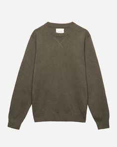 8872f415fb7 Fisherman cable crewneck sweater