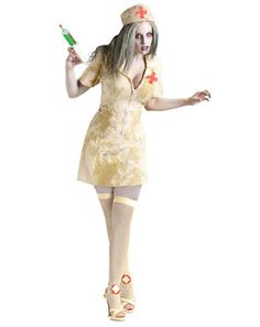 Awesome Theme Halloween Costumes: Scary Costumes - Sexy Zombie Nurse Costume just added. Top 10 Halloween Costumes, Adult Costumes, Costumes For Women, Zombie Costumes, Halloween Zombie, Happy Halloween, Zombie Nurse Costume, Sexy Nurse Costume, Day Of Dead